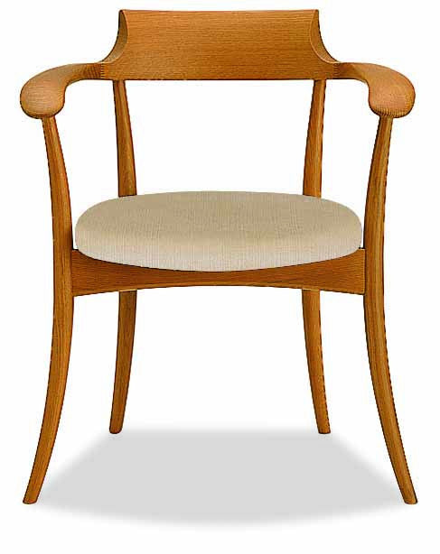 HIDA - CRESCENT Arm Chair Oak - Dining Chair