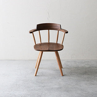SOLID arm chair DC341-0W - Dining Chair - Nagano Interior