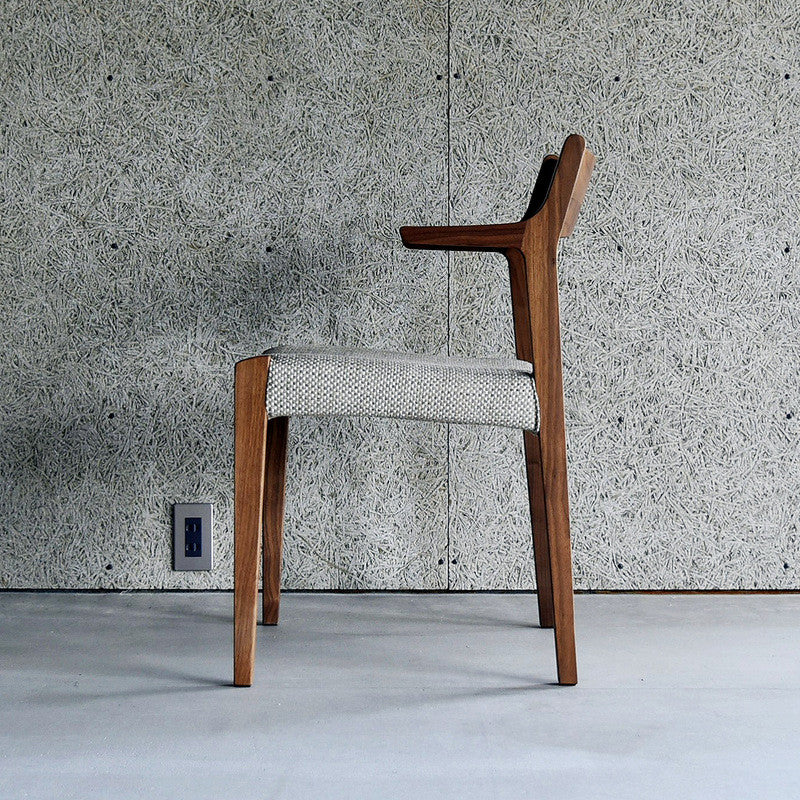 SOLID arm chair DC343-1W - Dining Chair - Nagano Interior