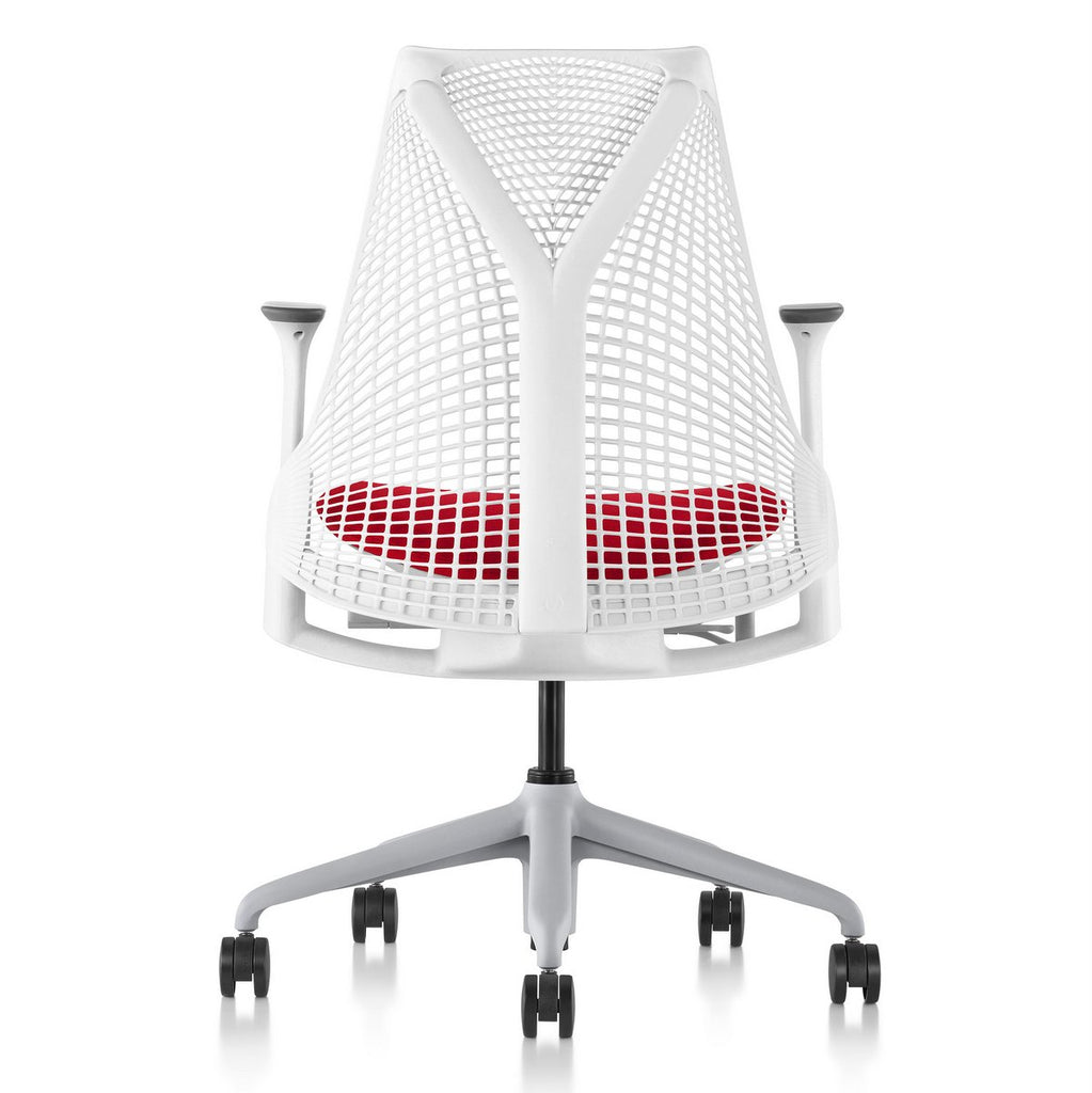 Sayl Chair Fog Base with Studio White Y-Tower