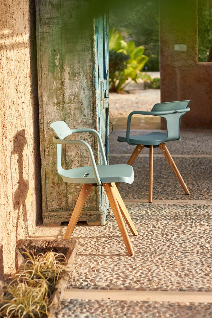 TOLIX - T14 Wooden Chair - Dining Chair