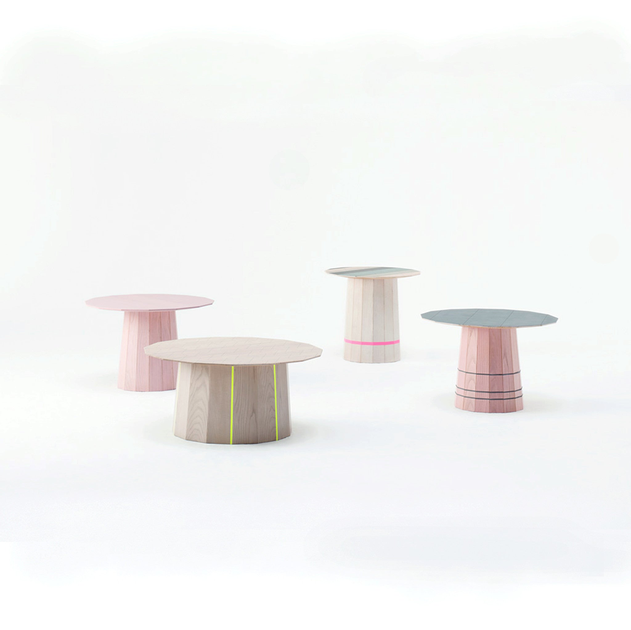 Karimoku New Standard - COLOUR WOOD PINK d600 - Coffee Table