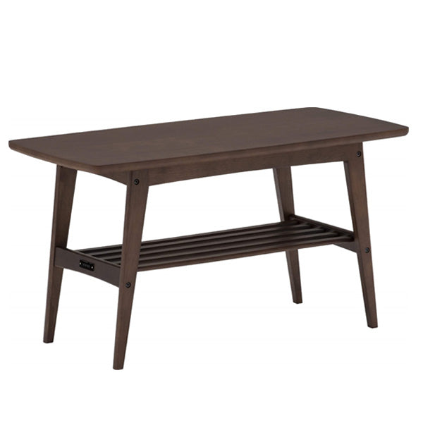 living table small mocha brown