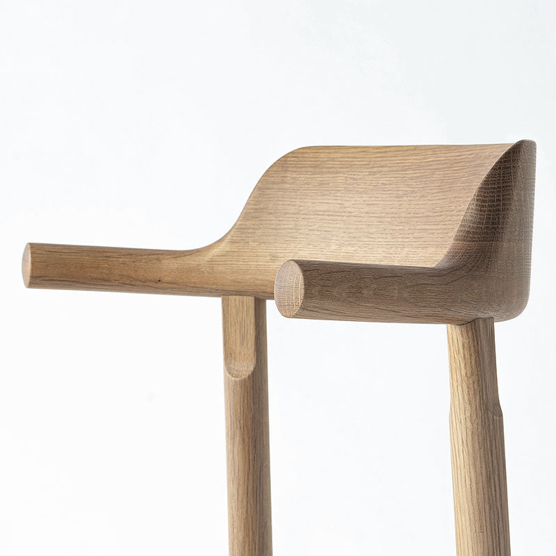 TSUBURA Chair Wooden Seat