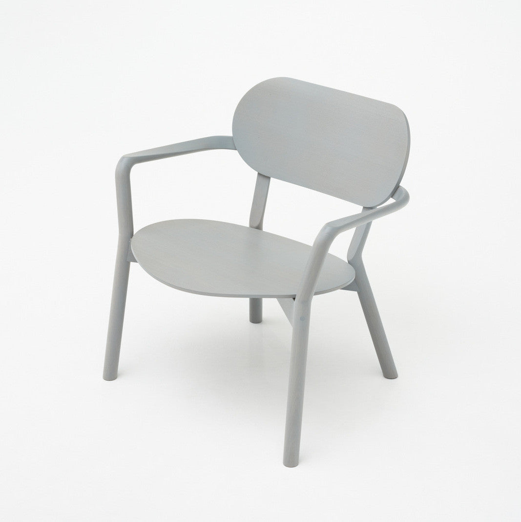 CASTOR LOW CHAIR grain gray