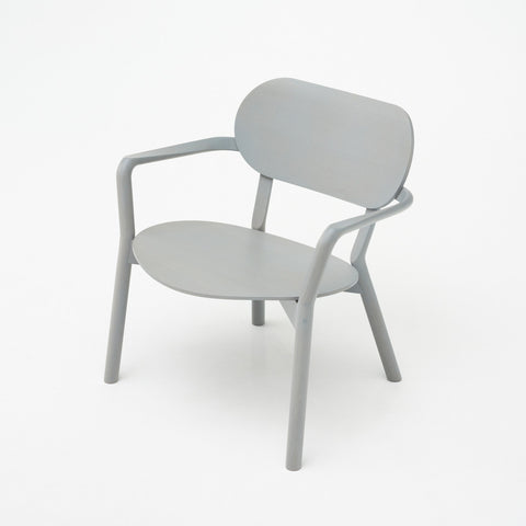 Karimoku New Standard - CASTOR LOW CHAIR grain gray