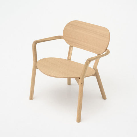 Karimoku New Standard - CASTOR LOW CHAIR oak - Dining Chair