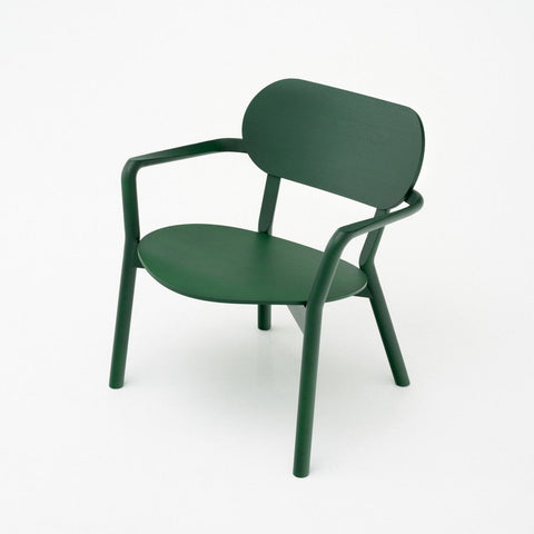 Karimoku New Standard - CASTOR LOW CHAIR green - Dining Chair