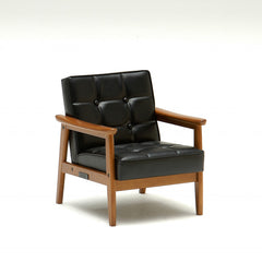 Karimoku60 - k chair mini standard black - Armchair