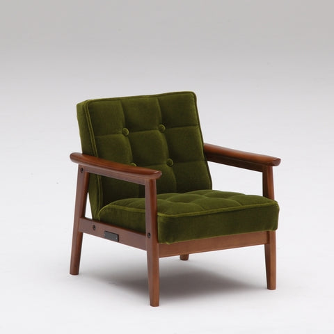 k chair mini moquette green - Armchair - Karimoku60