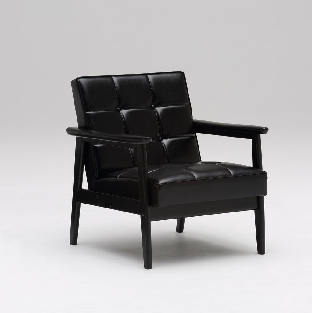 k chair one seater matte black - Armchair - Karimoku60