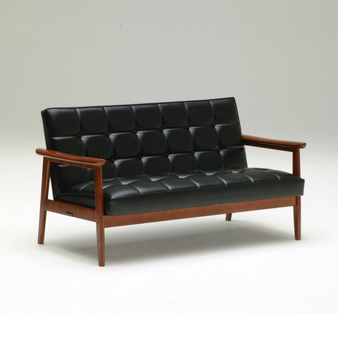 k chair two seater standard black - Sofa - Karimoku60