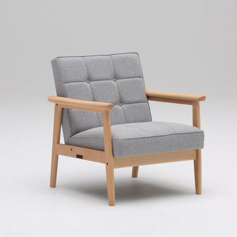 k chair one seater mist gray - Armchair - Karimoku60