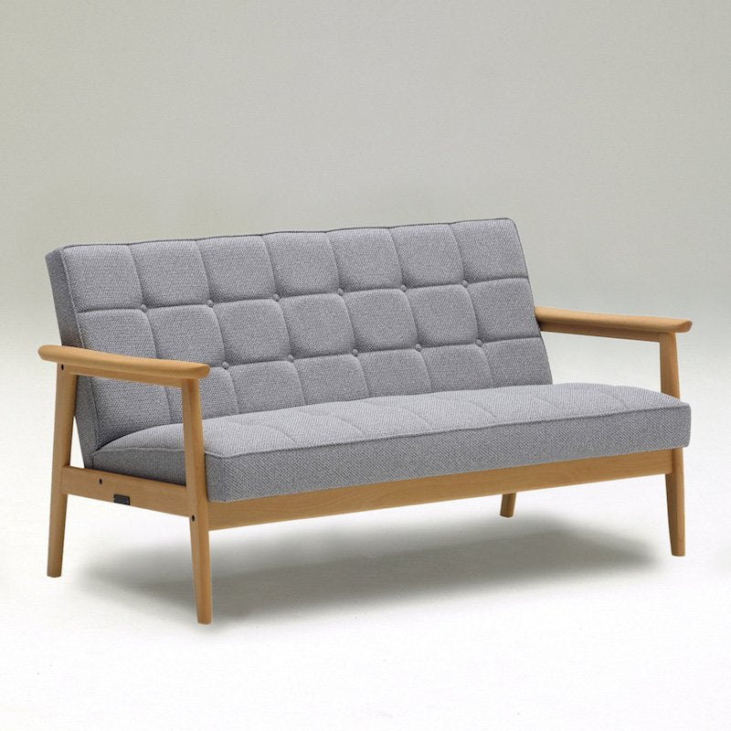 Karimoku60 - k chair two seater mist gray - Sofa