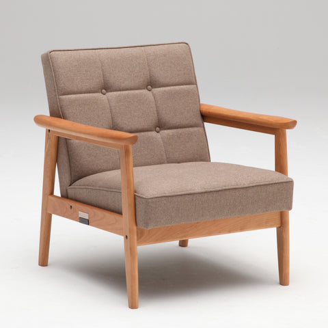 k chair one seater premium cherry - Armchair - Karimoku60