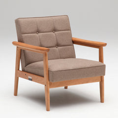 Karimoku60 - k chair one seater premium cherry - Armchair