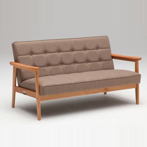 Karimoku60 - k chair two seater premium cherry - Sofa