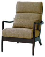 VIOLA sofa 1P Walnut - Armchair - HIDA