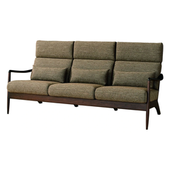 HIDA - VIOLA sofa 3P Walnut - Sofa