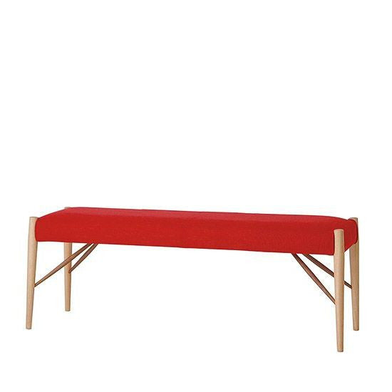 White Wood Bench WOB-139 - Bench - Nissin