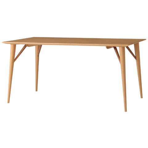Nissin - White Wood Table - Dining Table