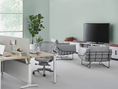 Herman Miller - Wireframe Ottoman - Stool