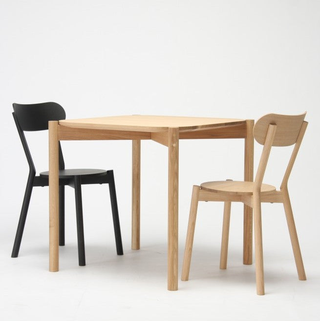 Karimoku New Standard - CASTOR CHAIR oak