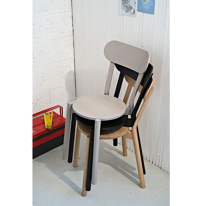 Karimoku New Standard - CASTOR CHAIR grain gray - Dining Chair