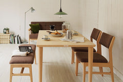 Karimoku60 - dining table 1300 beech - Dining Table