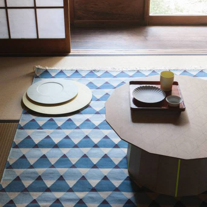 Karimoku New Standard - COLOUR WOOD PLAIN GRID d700 - Coffee Table