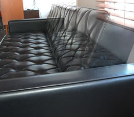sleeping sofa standard black