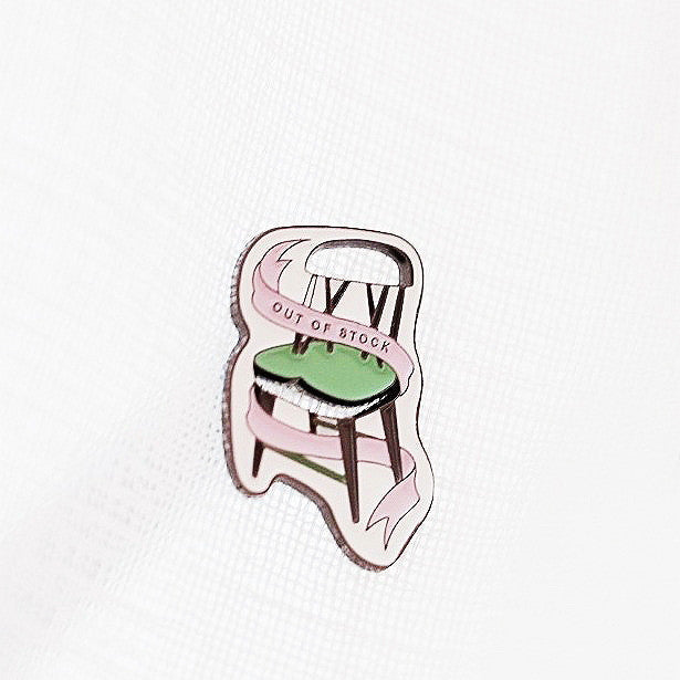 OUT OF STOCK 10th Anniversary Pin (Chair Edition) - Accessories - OUT OF STOCK