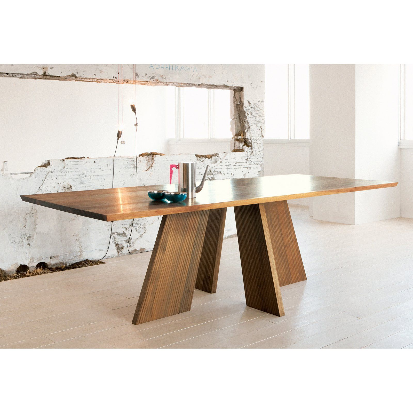 Hakama Dining Table - Dining Table - Conde House