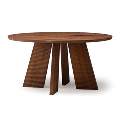 Hakama Round Table - Dining Table - Conde House