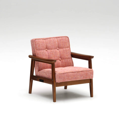 Karimoku60 - k chair mini pink - Armchair