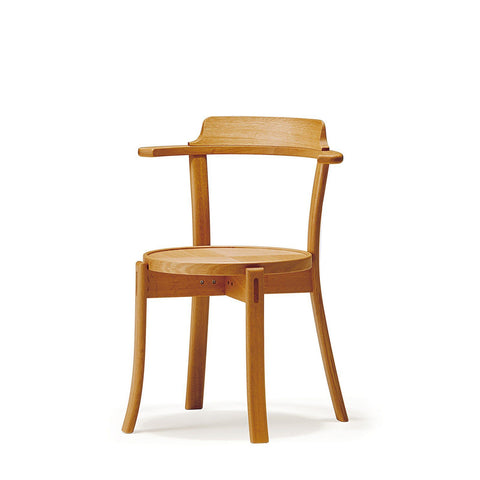 Conde House - Runt OM Chair Wooden Seat - Dining Chair