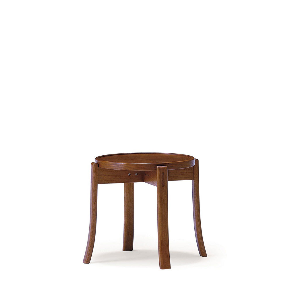 Runt OM Stool Wooden Seat - Stool - Conde House
