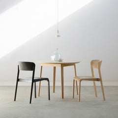 Tapered Round Table - Dining Table - Takumi Kohgei