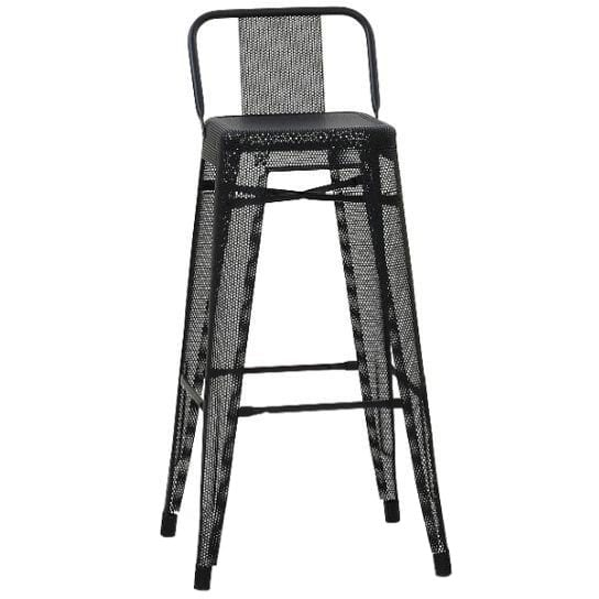 TOLIX Low Backrest Stool Perforated H