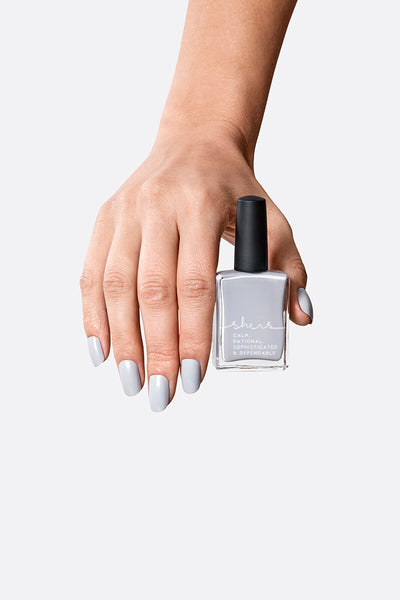 SHE IS Nail Polish - Light Grey