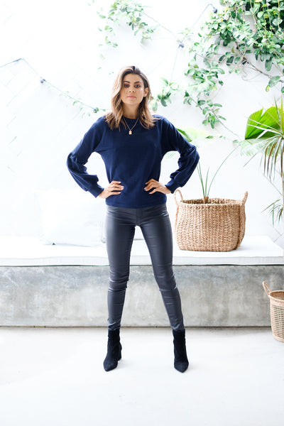 BOURDEAUX Sweater - Navy