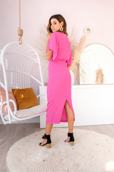 HAZEL Dress - Fuchsia