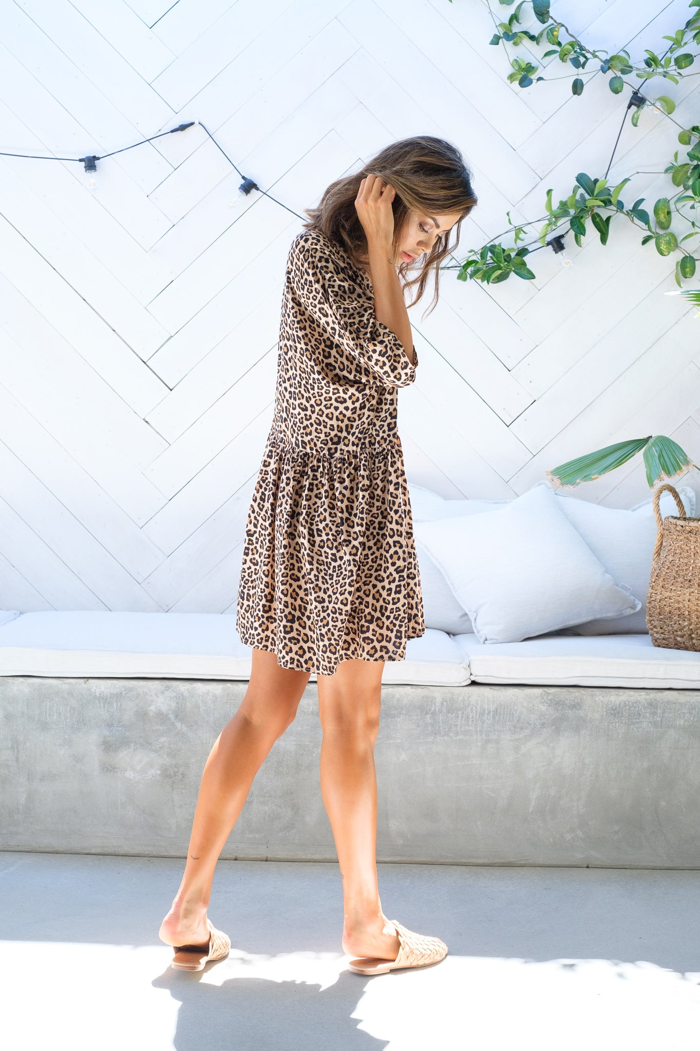REAGHAN Leopard Print Tunic