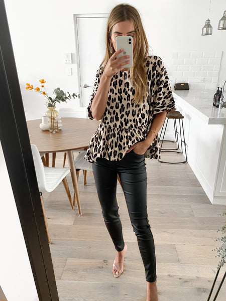 FARRAH Swing Top - Leopard