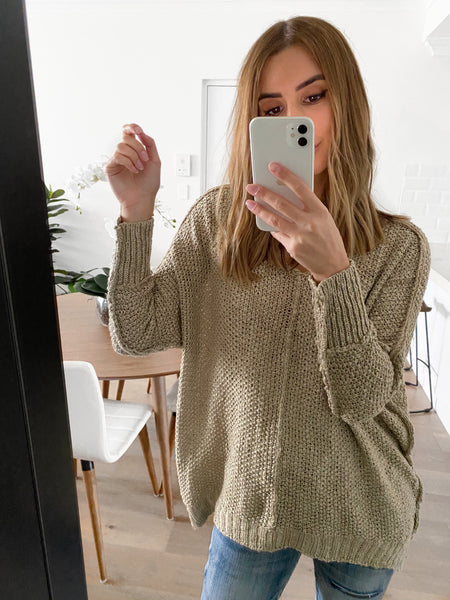 EVELYN Knit – Oatmeal