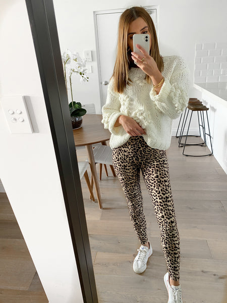 HARLOW Leopard Leggings