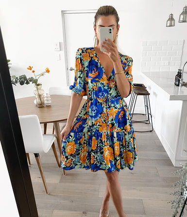 MADELINE Swing Dress - Royal Blue (Pre-order)