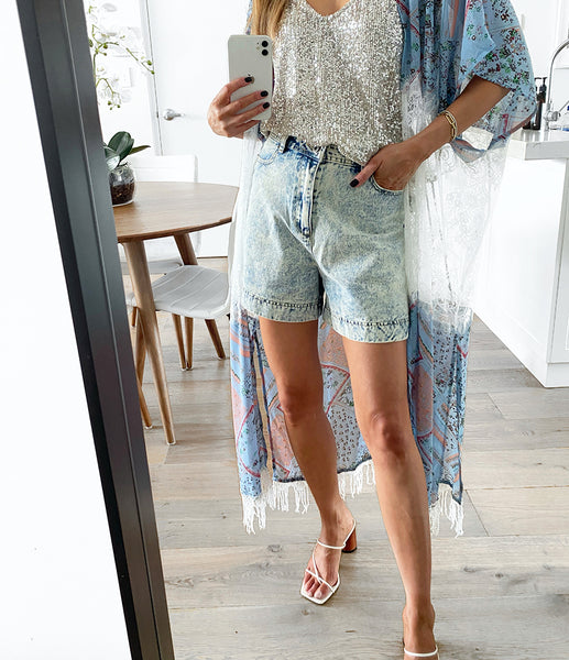 MOLLY Denim Shorts