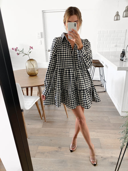 ABELLA Shirt Dress - Check