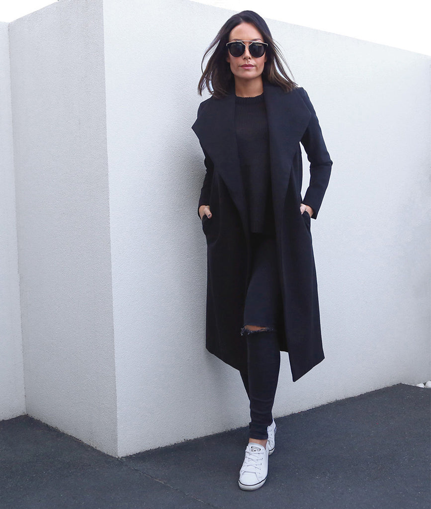KENDALL Coat - Black